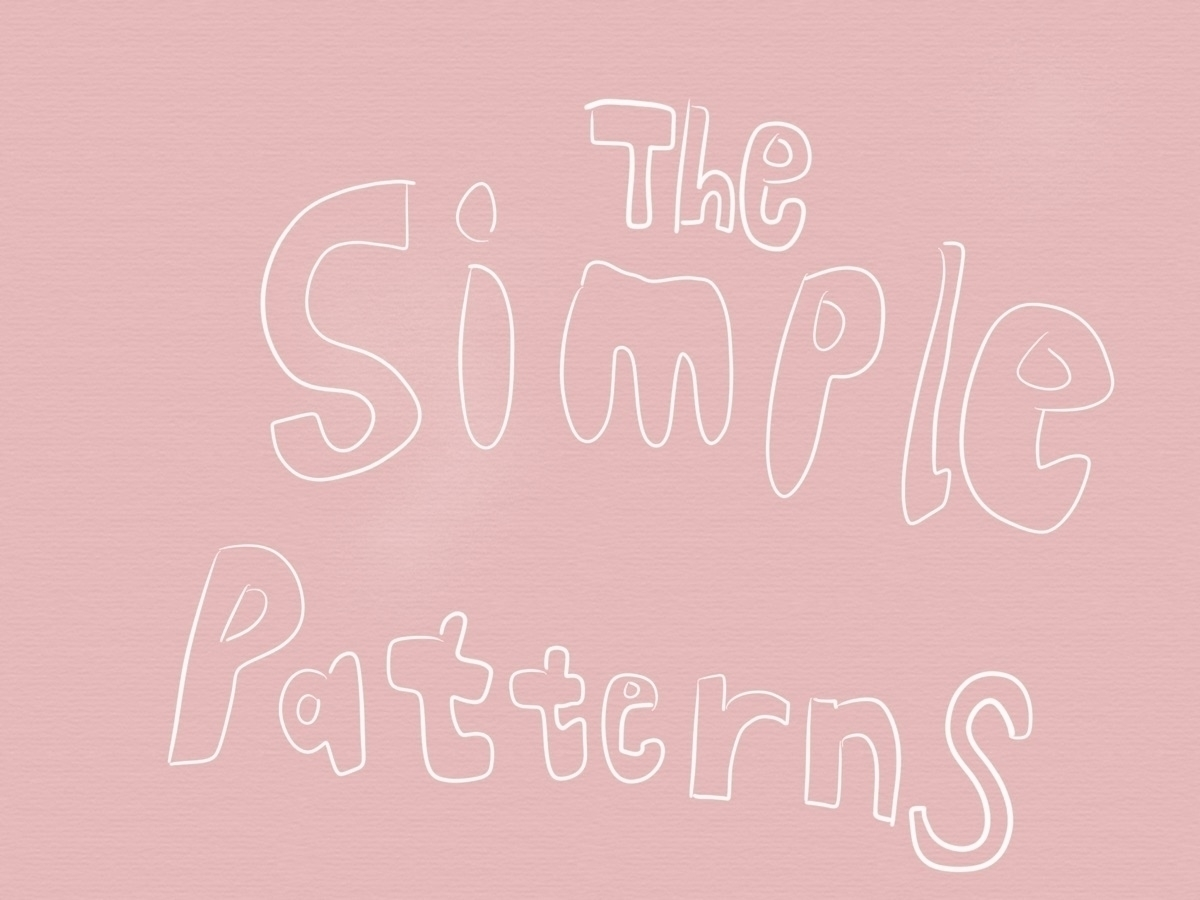 The Simple Patterns  (@thesimplepatterns) Cover Image