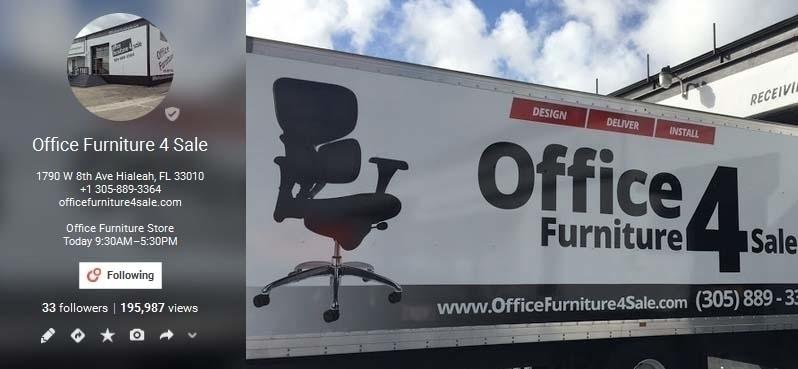 Office Furniture 4 Sale (@ofurniture4sale) Cover Image