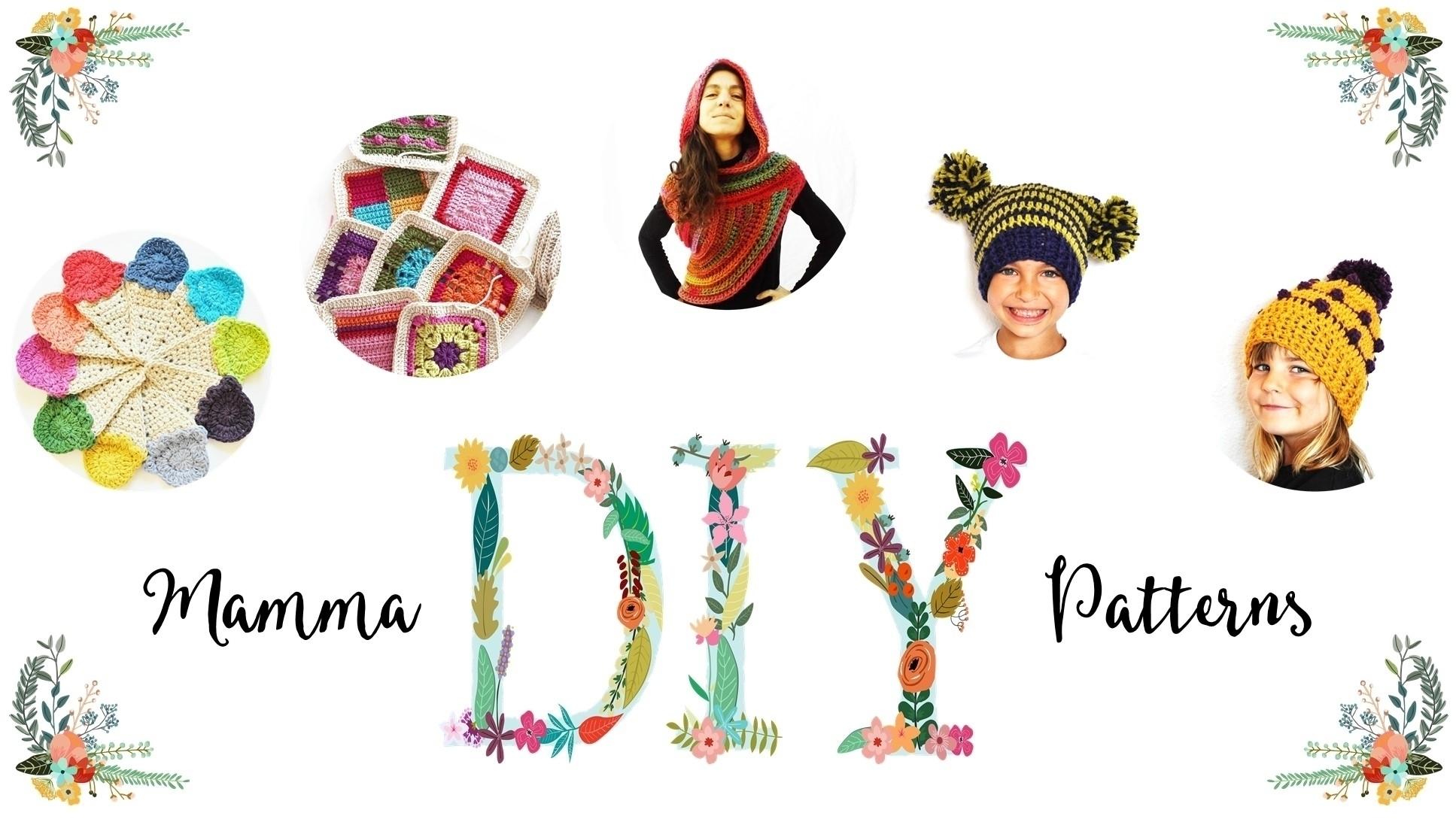 Mamma DIY Crochet Patterns  (@mammadiy) Cover Image