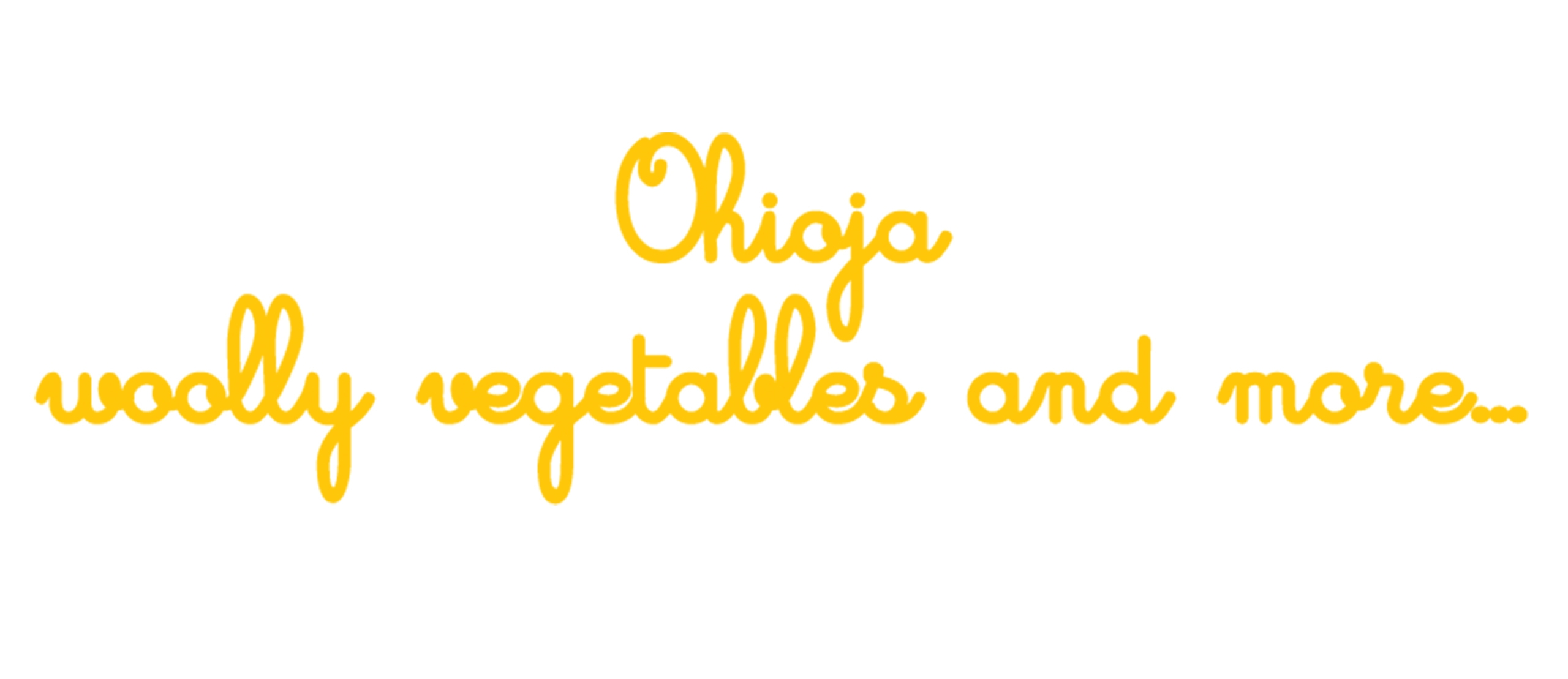 Ohioja woolly vegetables and more (@ohioja) Cover Image