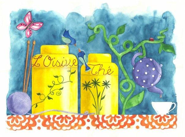 L'Oisivethé, yarn and tea shop.  (@loisivethe) Cover Image
