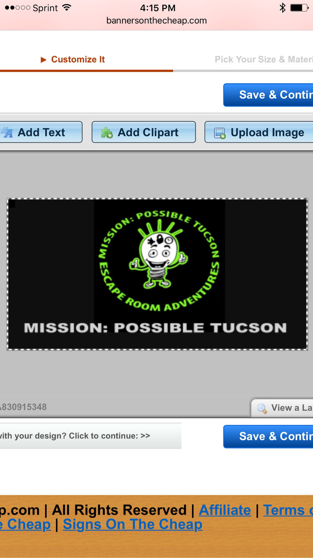 Mission: Possible Escape Room Adventures (@adventurempt) Cover Image