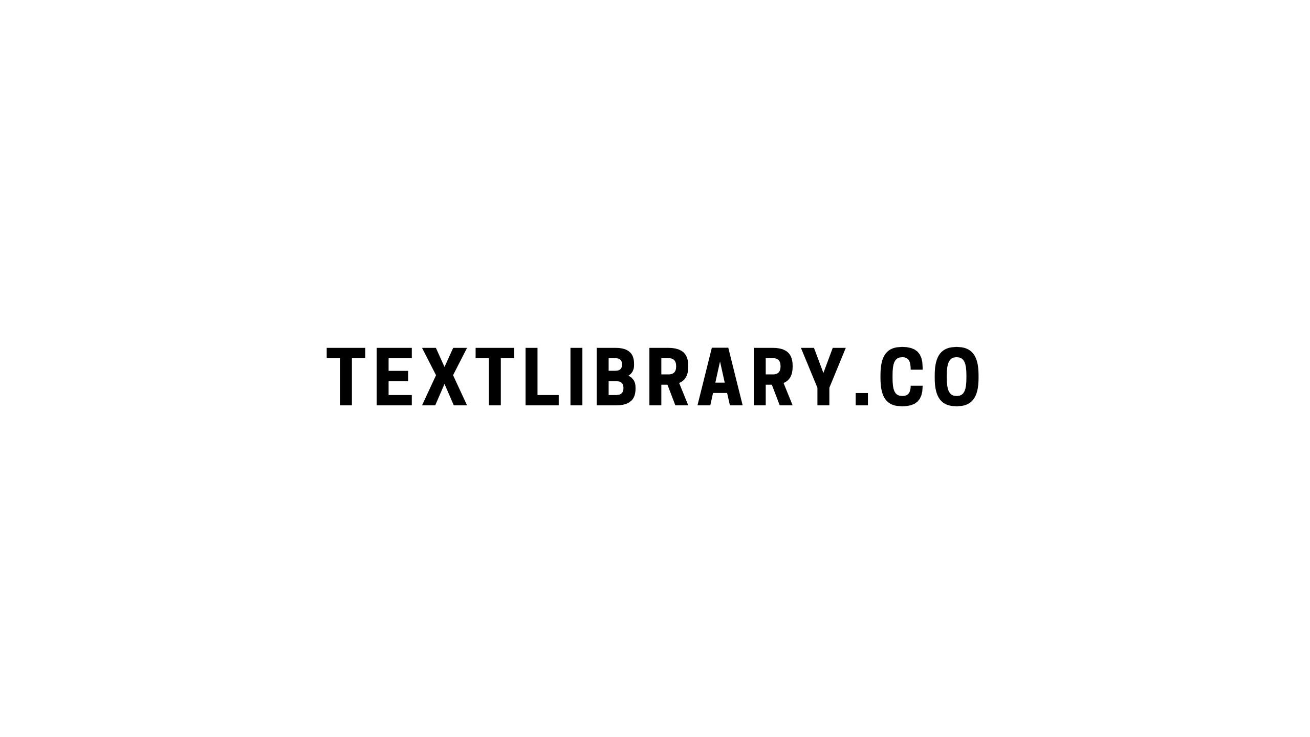 Text Librar (@textlibrary) Cover Image