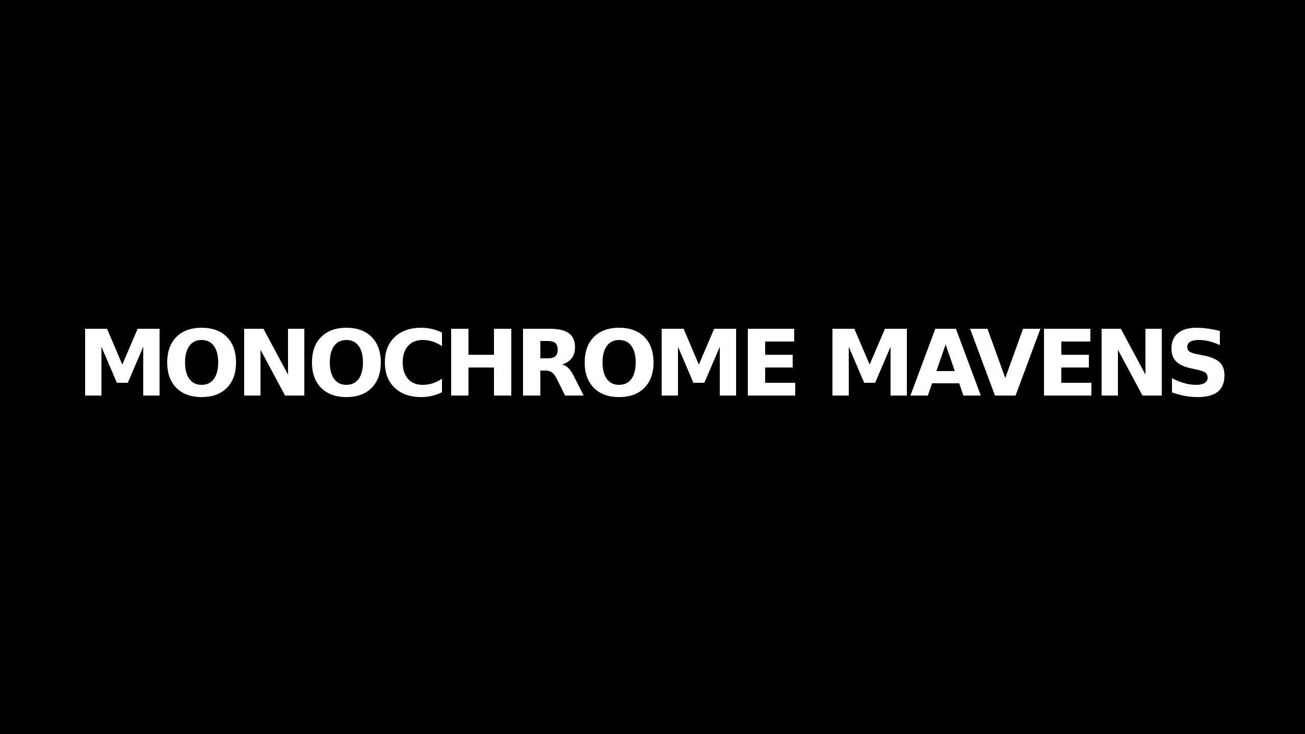 Monochrome Mavens (@monochromemavens) Cover Image