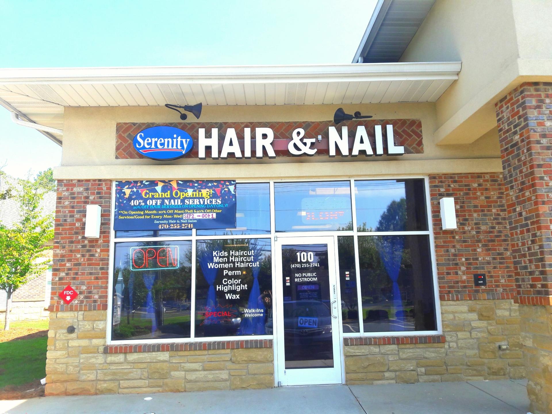 Serenity Hair And Nail  (@serenitynailandhair) Cover Image