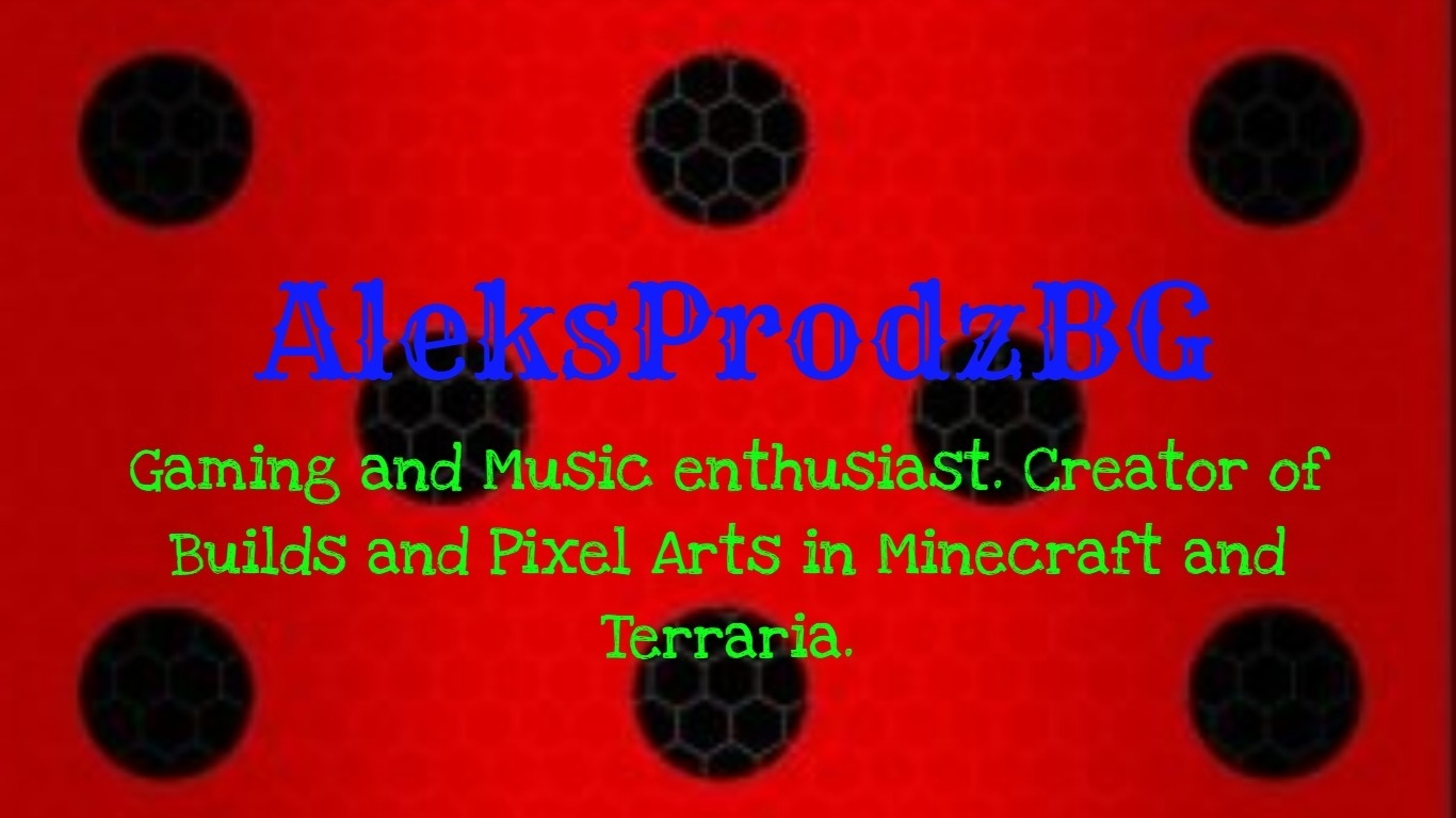 AleksProdzBG's Builds and Pixel Arts (@apbg_builds) Cover Image