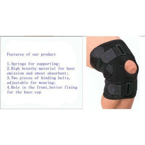 Wrap Around Knee Support (@kneesupportrunning) Cover Image