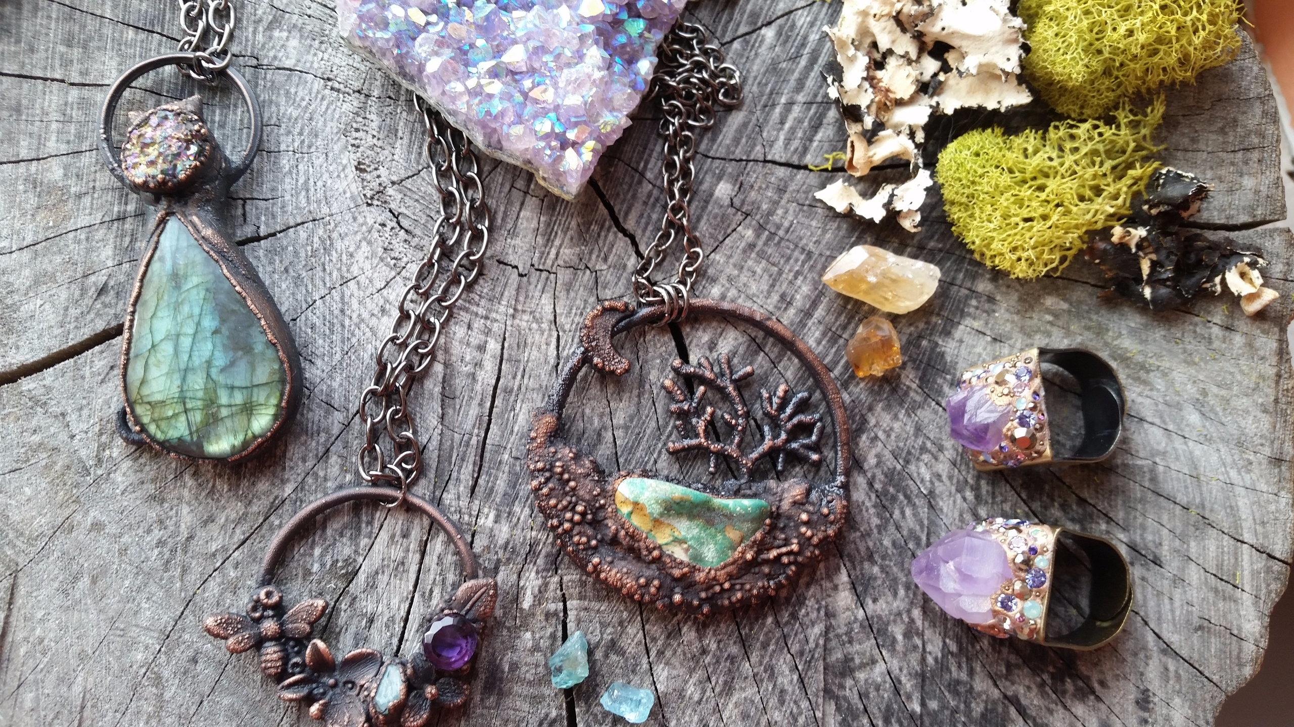 🍃 Jewelry for the Free Spirited 🍃  (@augiebycarriejewelry) Cover Image