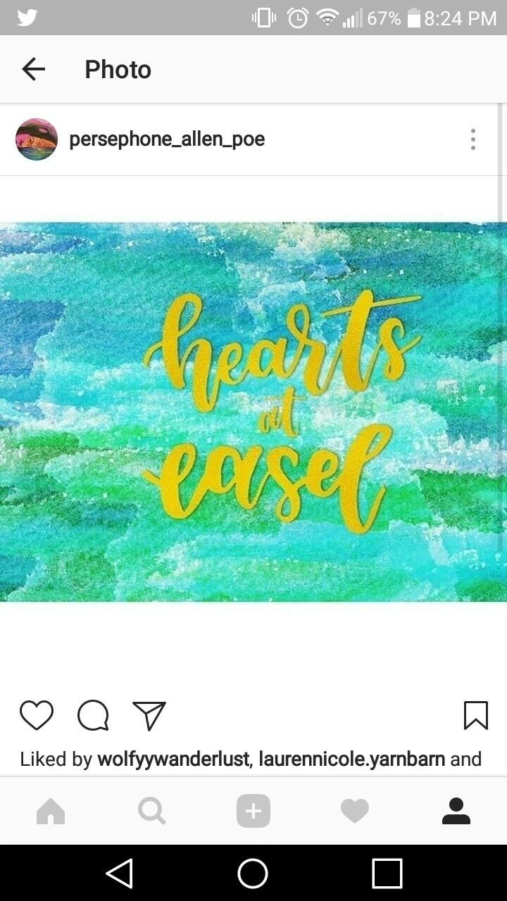 Inger Persephone Allen Poe (@heartsateasel) Cover Image