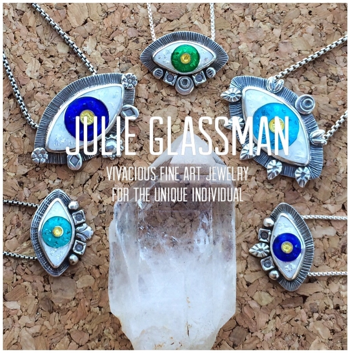 Julie Glassman Fine Art Jewelry (@julieglassmanjewelry) Cover Image