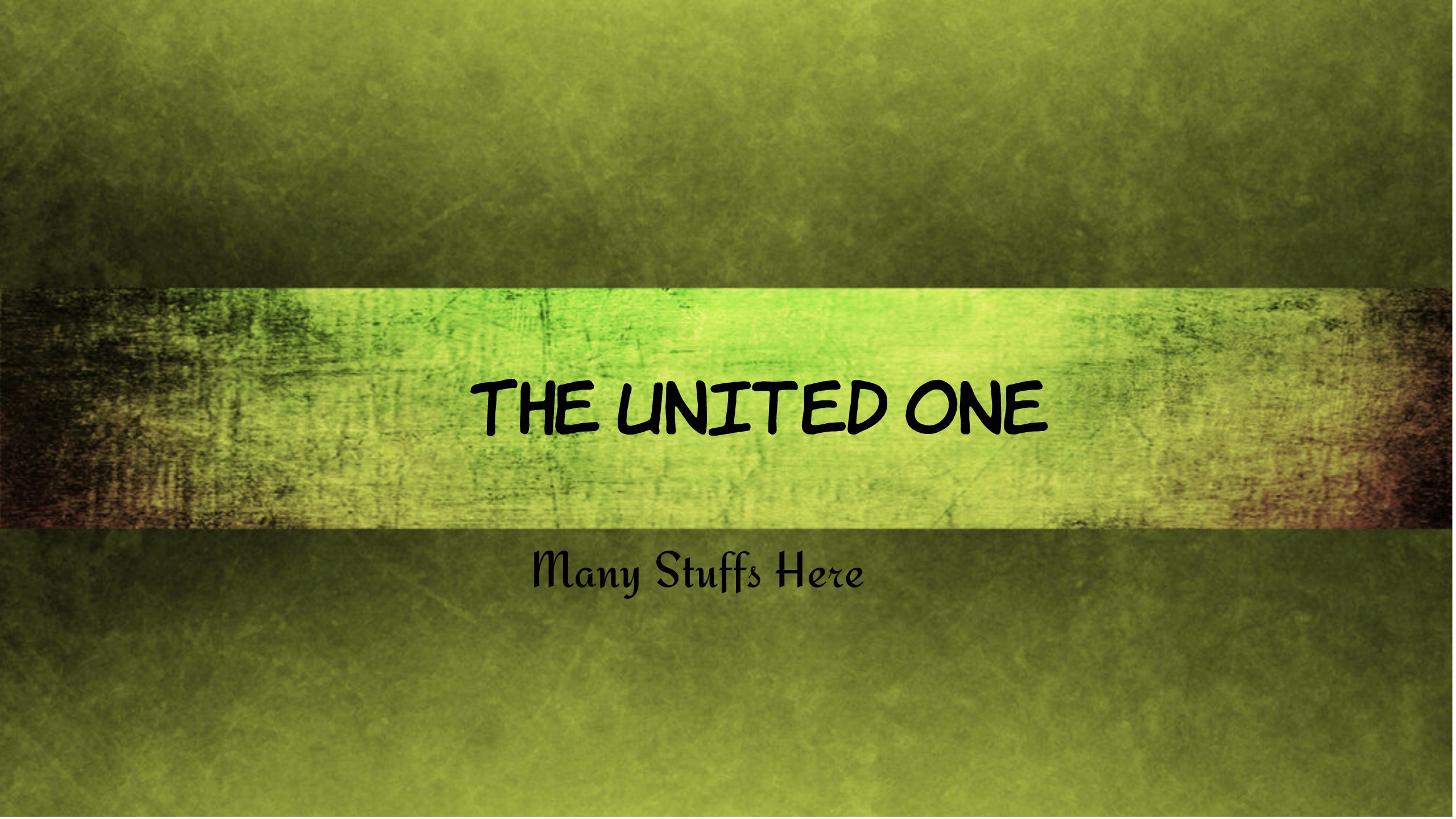 The United One (@theunitedone) Cover Image