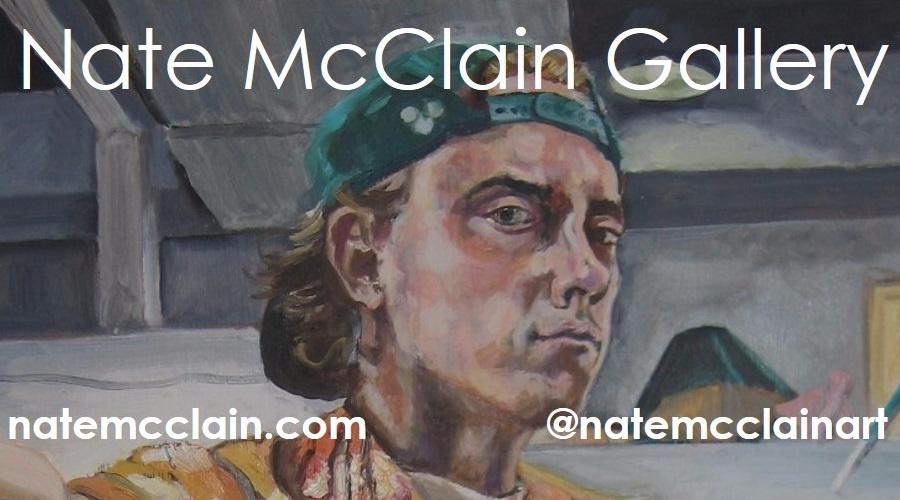Nate McClain Gallery (@natemcclainart) Cover Image