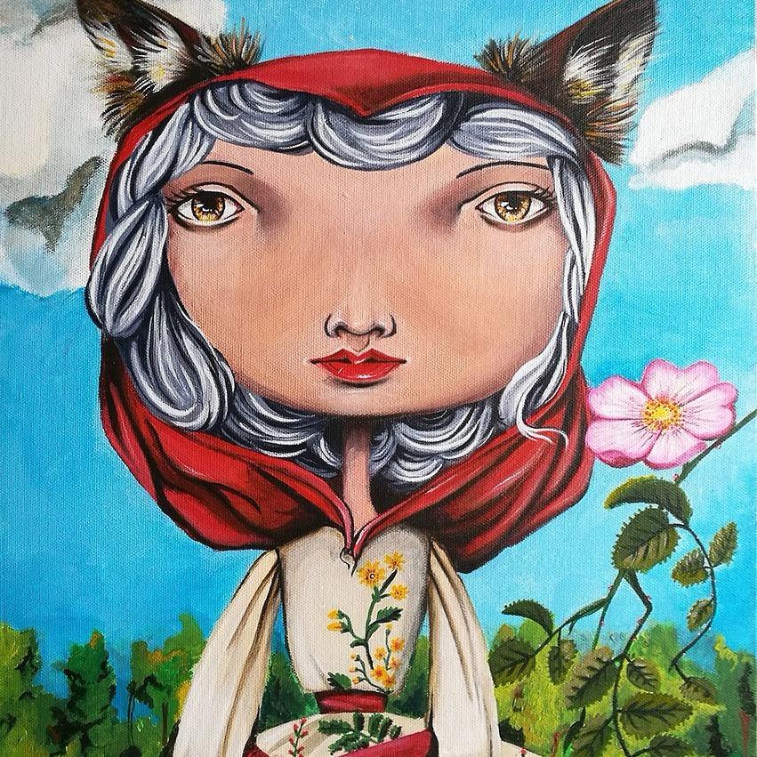 Valeria Poropa (@valeriadraws) Cover Image