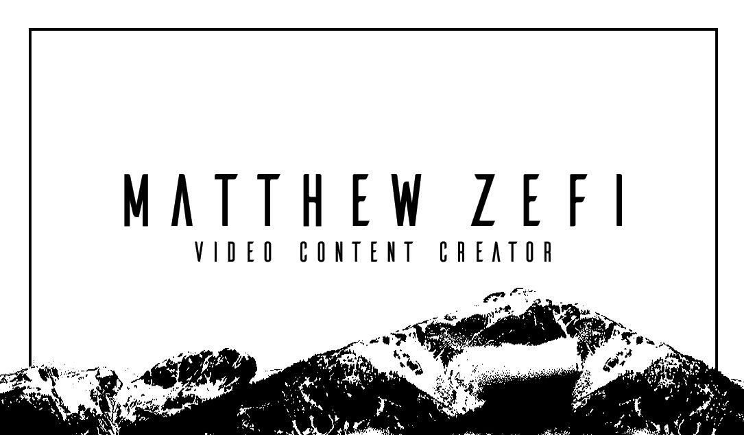 Matt Zefi (@mattzefi) Cover Image