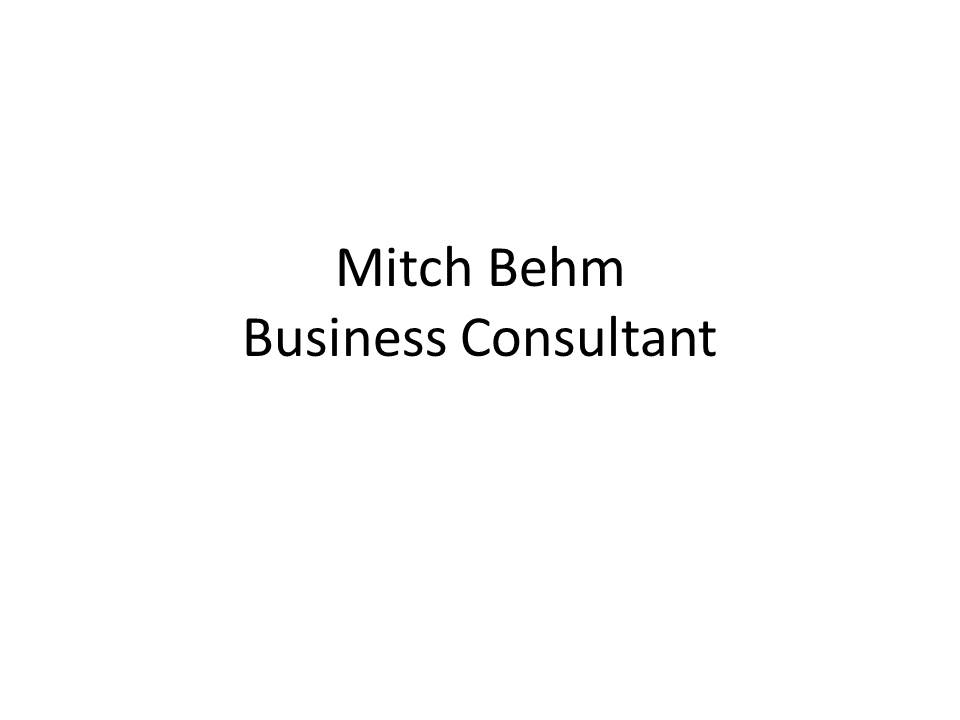 Mitch Behm (@mitchbehm) Cover Image