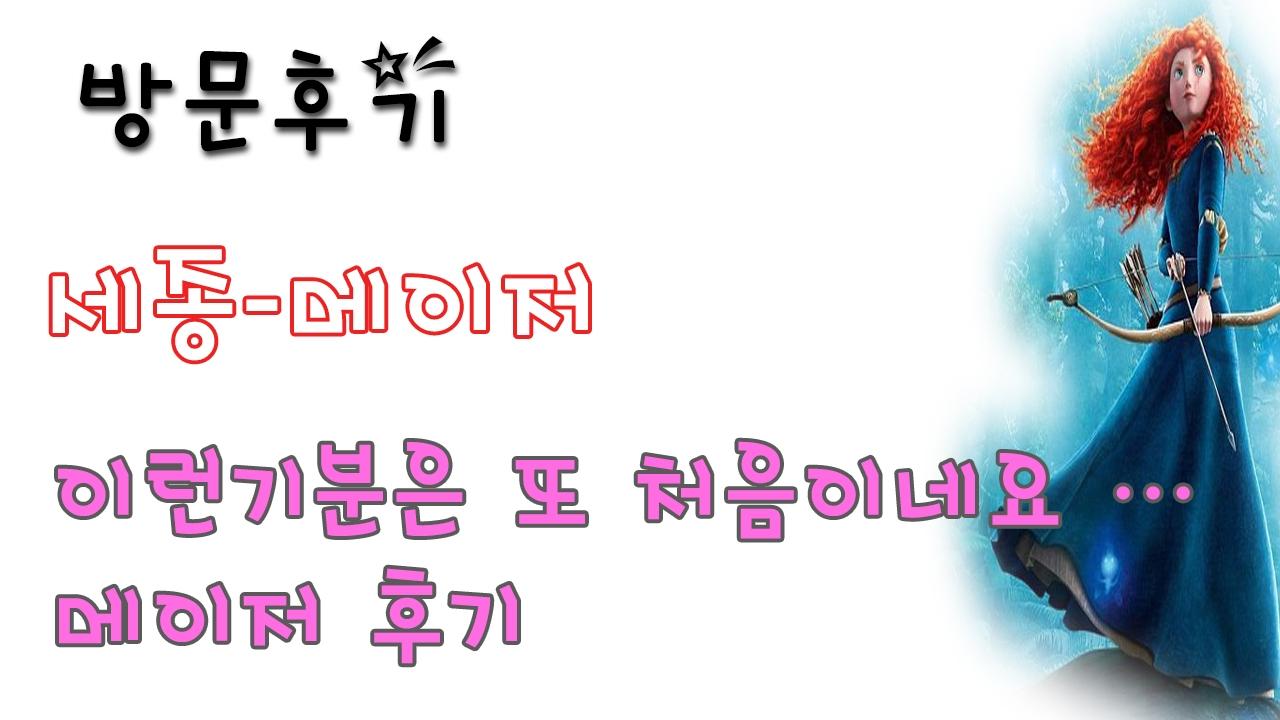 세종메이저 (@sejongmeijeo) Cover Image