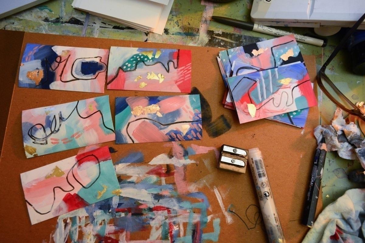 Olivia Gray Abstract Artist (@oliviargrayart) Cover Image