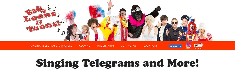 Singing Telegrams (@singingtelegrams) Cover Image