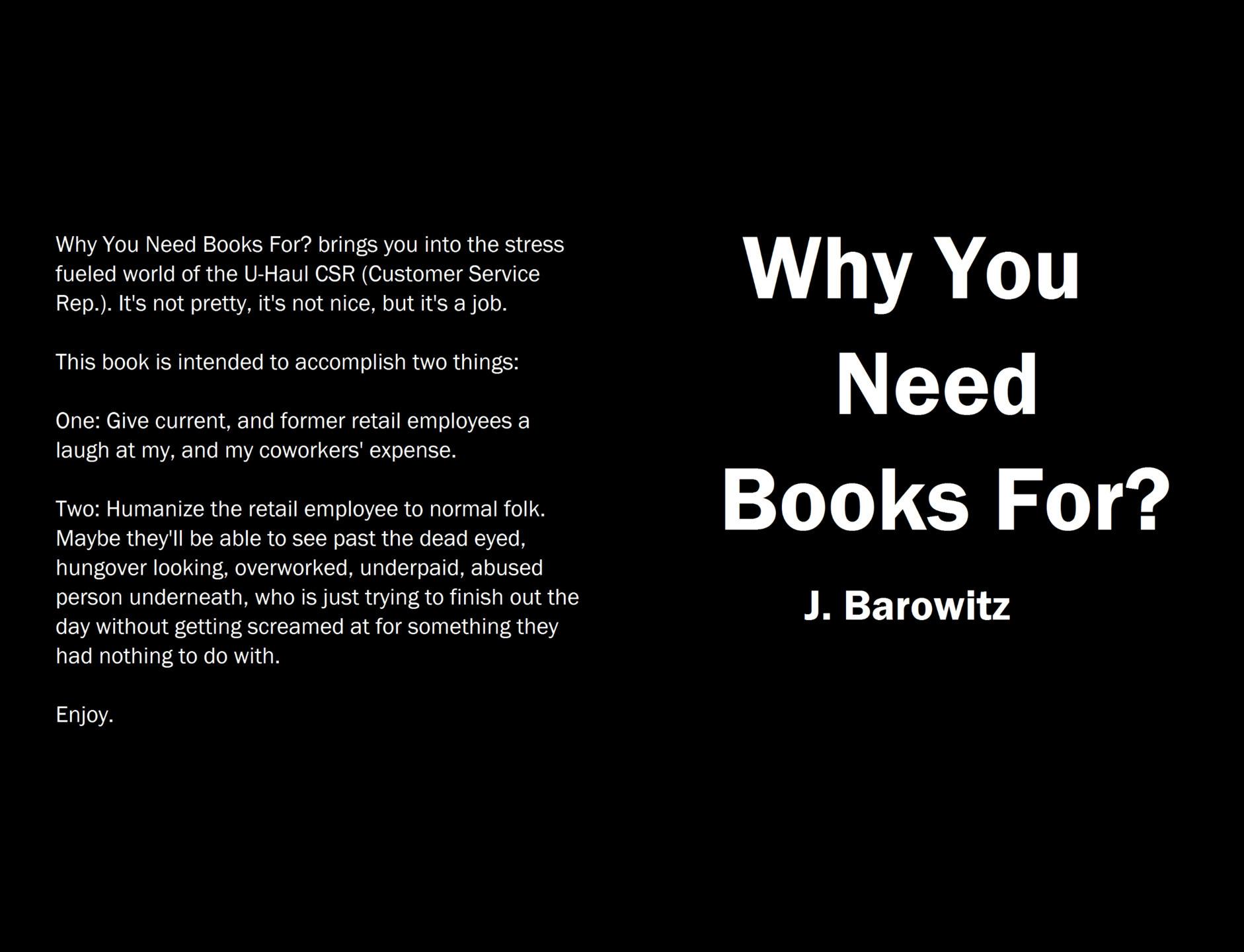Jared Barowitz (@jbarowitz) Cover Image