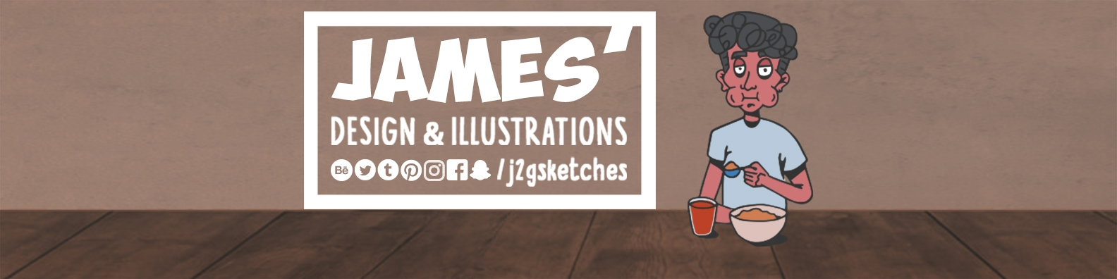 James Jacob George (@j2gsketches) Cover Image