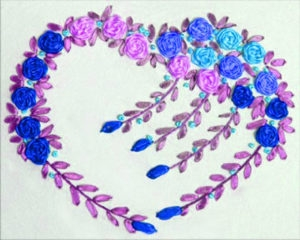 Ribbon Embroidery (@ribbonembroidery) Cover Image
