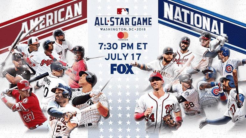 MLB All-Star Game 2018: Live® Stream™ TV Schedule  (@mlballstargamelive) Cover Image