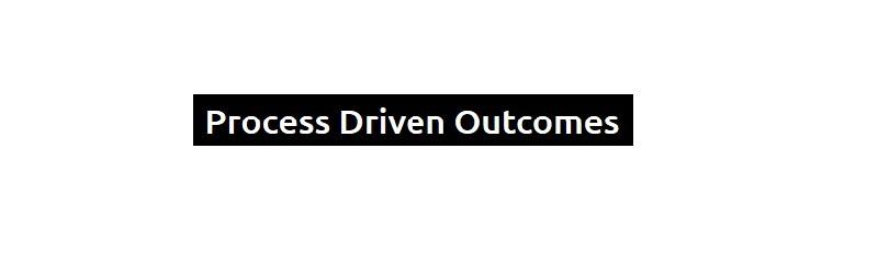 PROCESS DRIVEN OUTCOMES PTY LTD (@processdrivenoutcomes) Cover Image