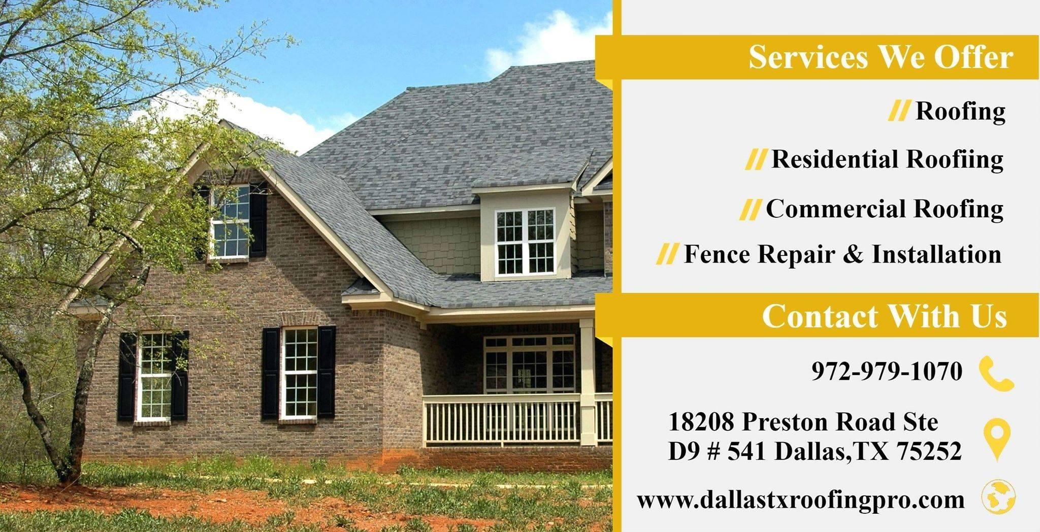Dallas Tx Roofing Pro (@dallastxroofingpro) Cover Image