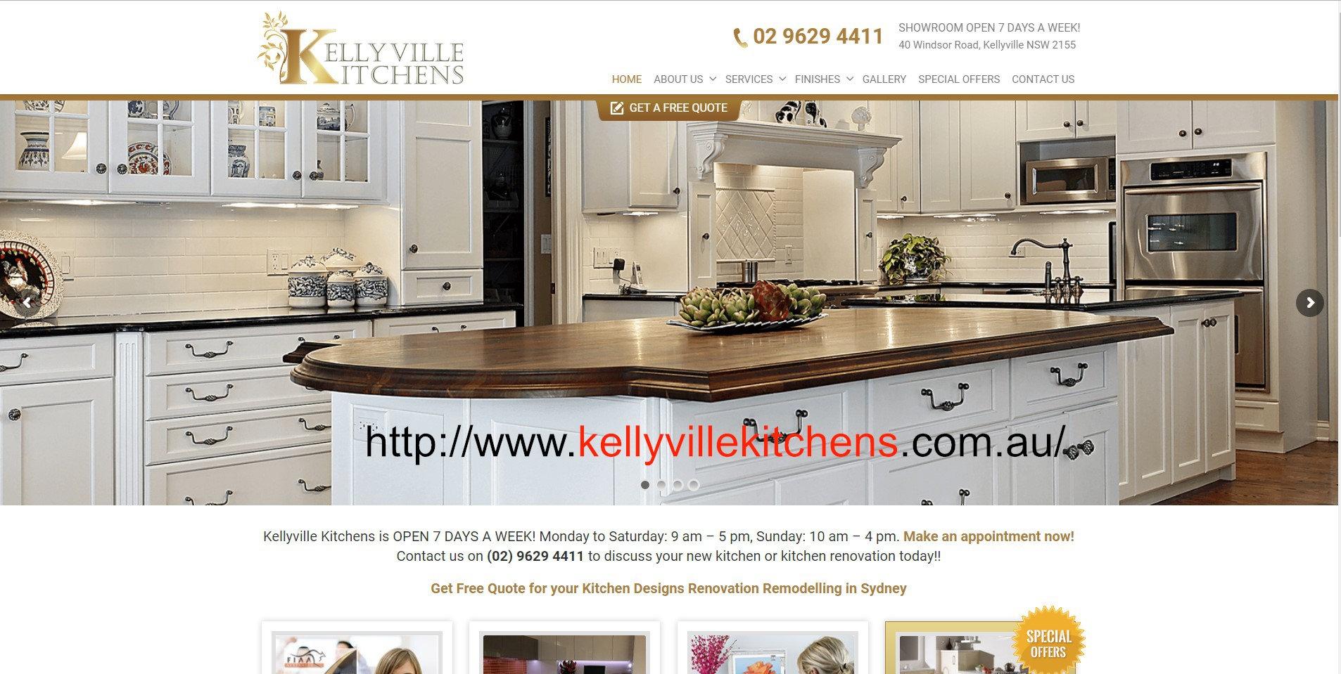 Kelly Ville Kitchens (@kellyvillekitchens) Cover Image