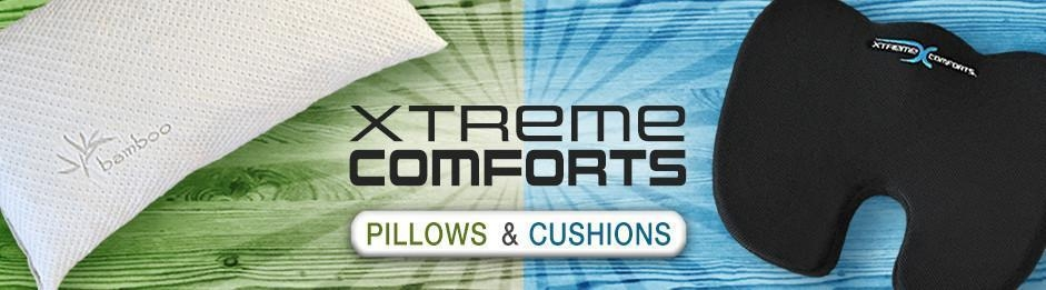 Xtreme Comforts Pillows and Cushions (@xtremecomforts) Cover Image