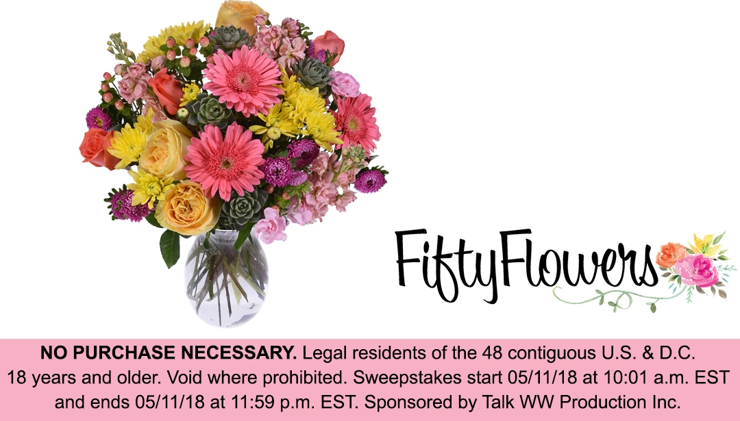 FiftyFlowers (@fiftyflowerscoupon) Cover Image