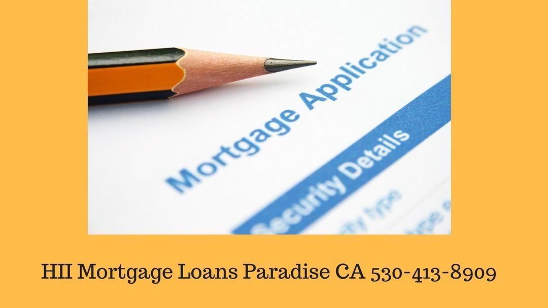 HII Mortgage Loans Paradise CA (@paradihii) Cover Image