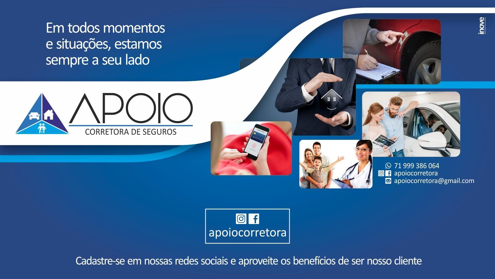 Apoio Corretora Seguros (@foredant) Cover Image