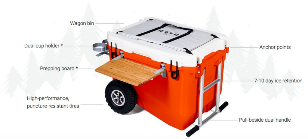 Rovr wheeled cooler (@rovrcooler) Cover Image