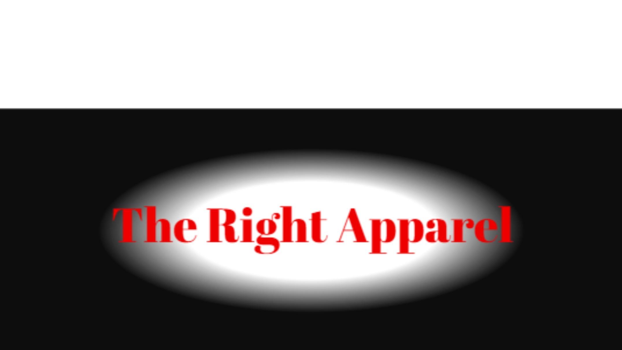 The Right Apparel (@kthegenius) Cover Image