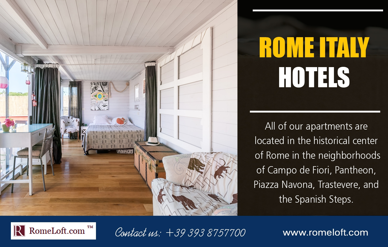 Rome Apartments For Rent (@airbnbromeitaly) Cover Image