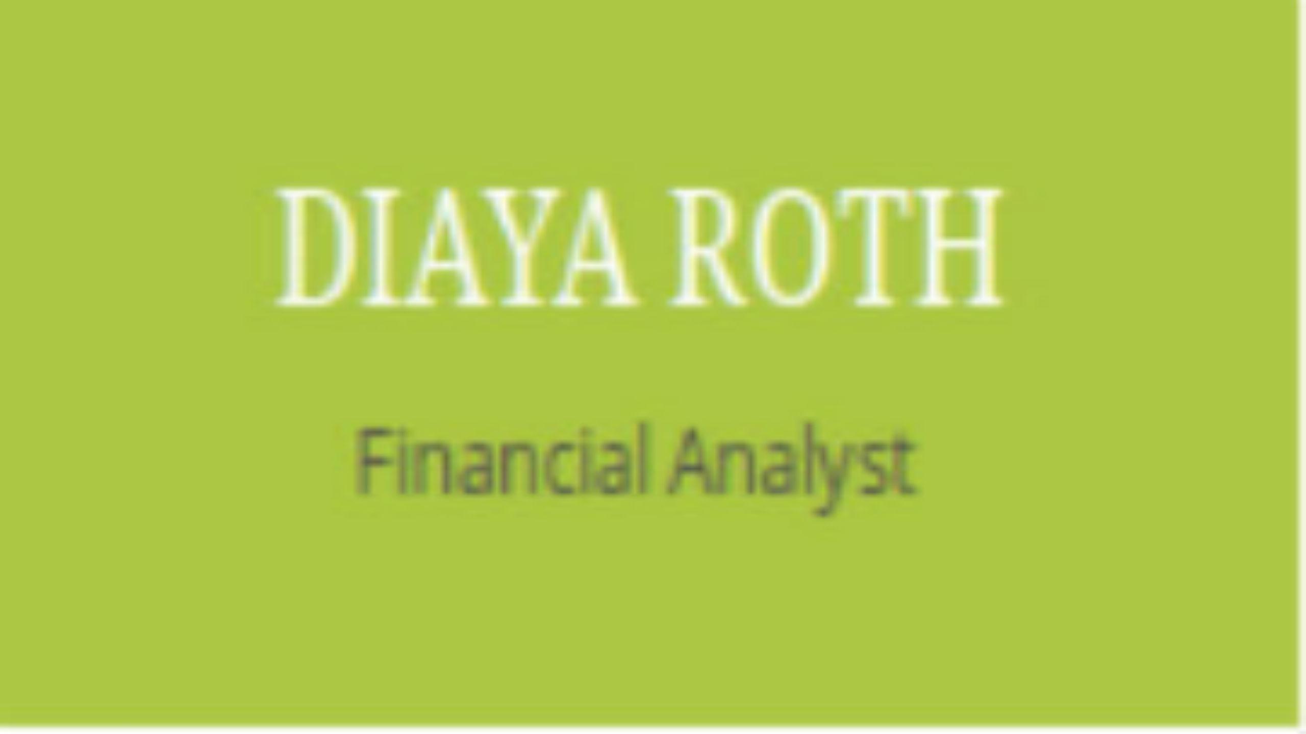 Diaya Roth, LLC (@diayaroth) Cover Image
