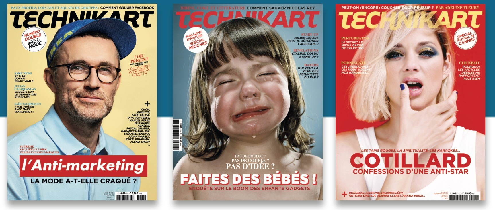 Technikart Magazine (@technikart) Cover Image