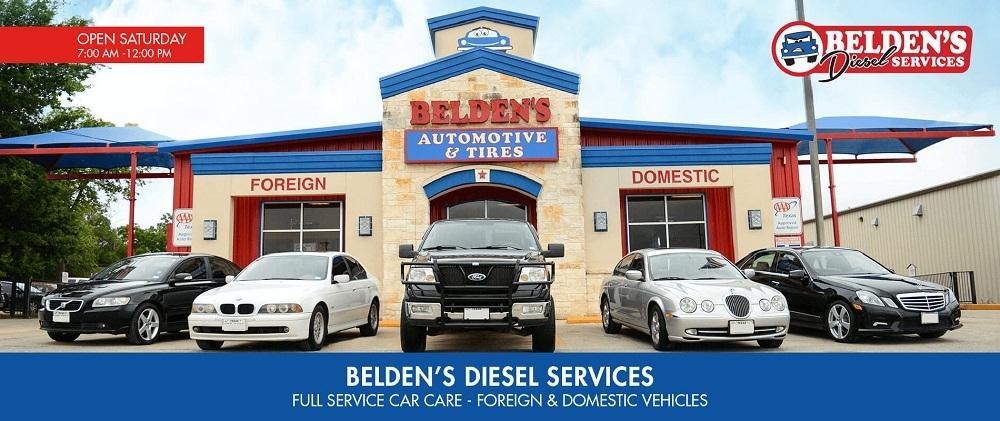 Belden's Automotive & Tires San Antonio TX (@beldensautomotivesanantonio) Cover Image
