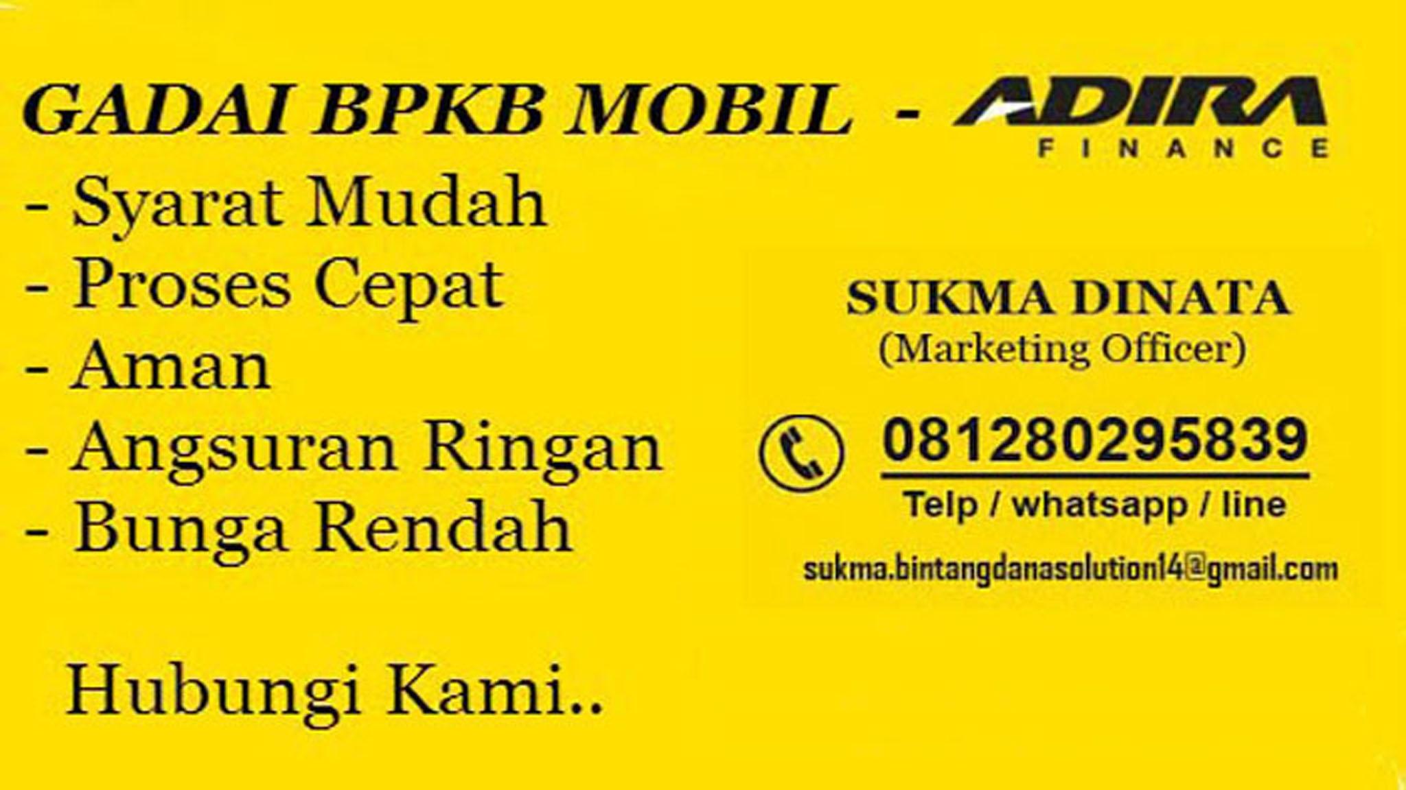 Gadai BPKB Mobi (@kreditpinjamandana) Cover Image