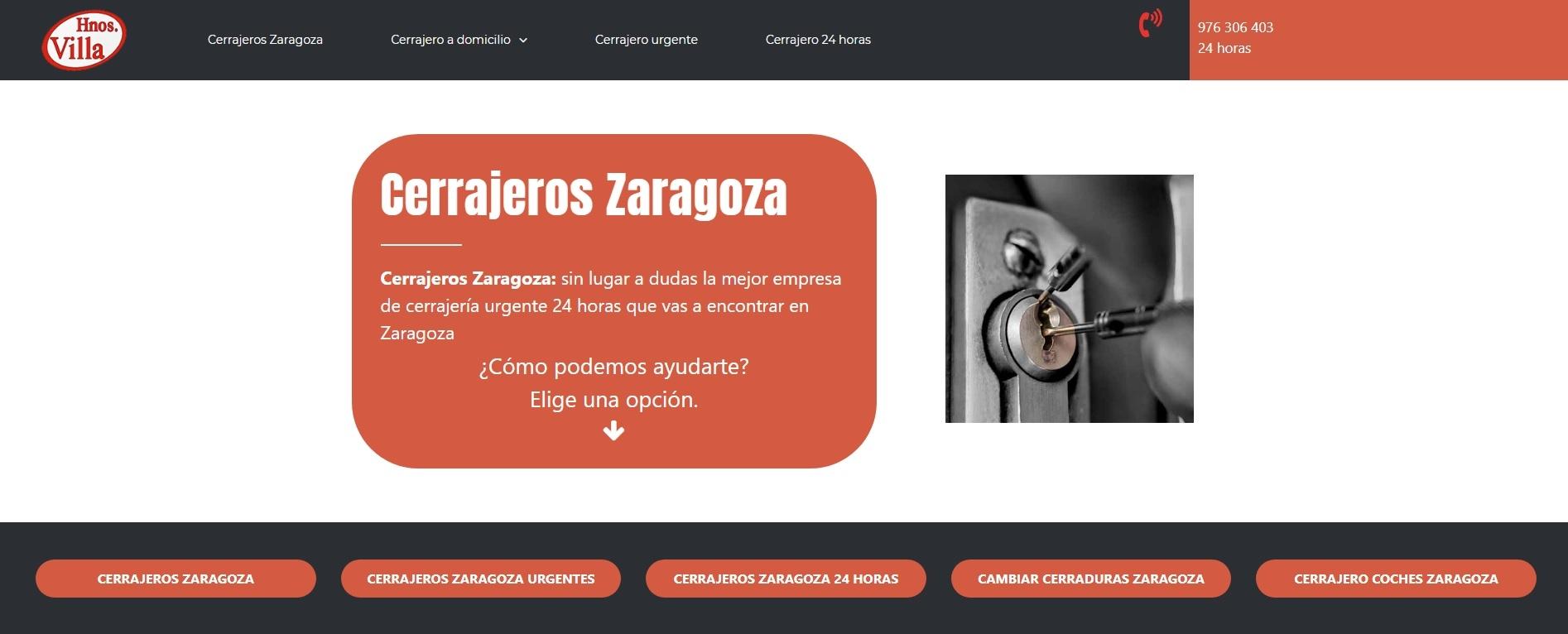 Cerrajeros Zaragoza (@cerrajeroszaragoza) Cover Image