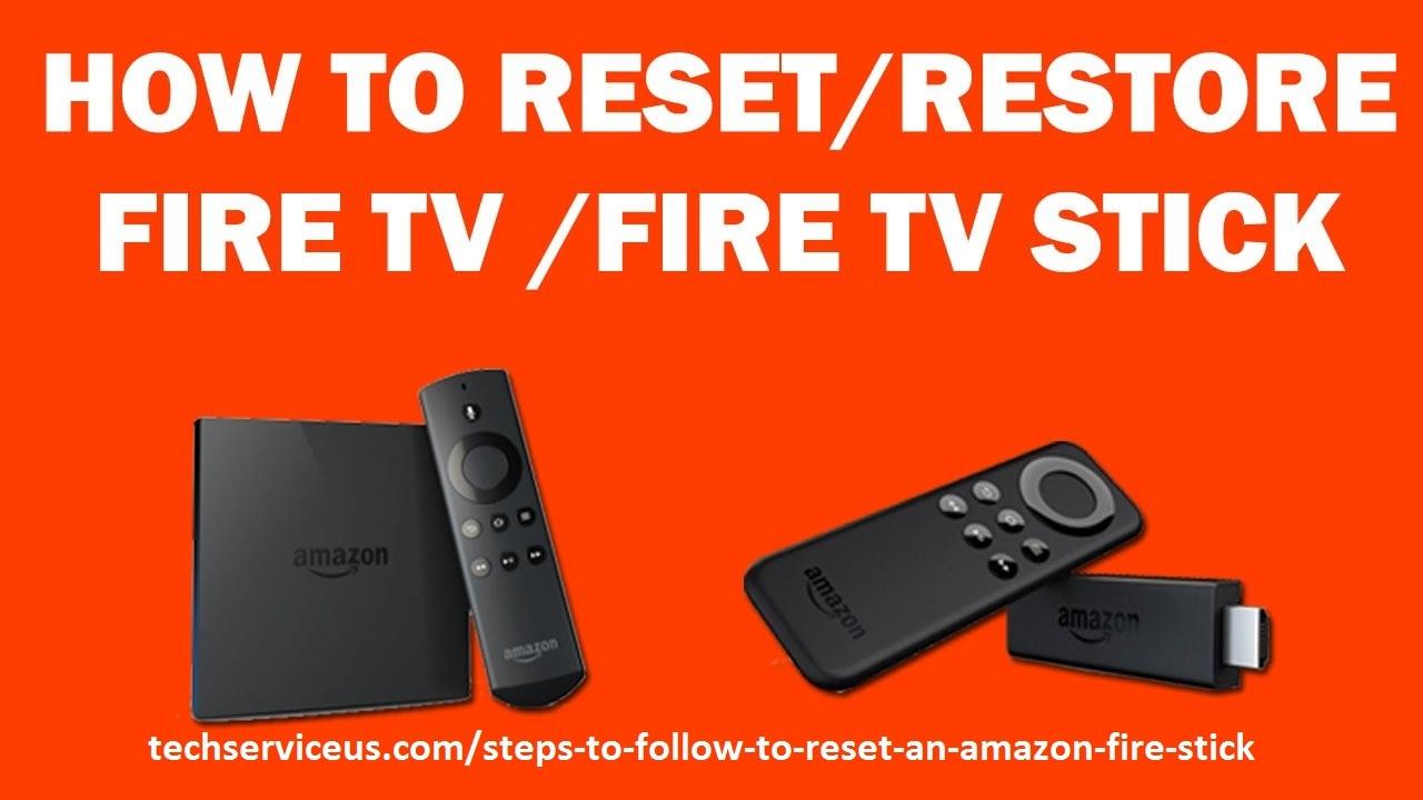 How To Reset Amazon Fire Stick (@stevewarnerus) Cover Image