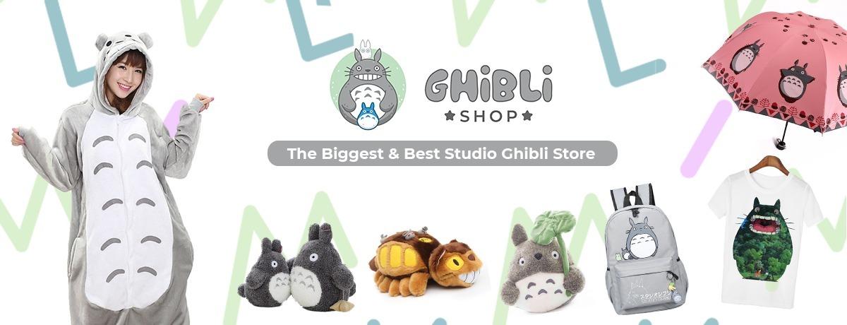 Ghiblishop-Studio Ghibli Mechandise (@ghiblishop) Cover Image