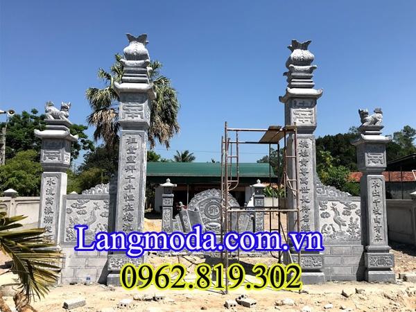 Lăng mộ đá Ninh Bình - Cổng nhà thờ họ đẹp - K (@langmodaninhbinhdep) Cover Image