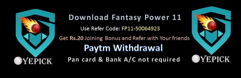 FANTASY POWER11 (@fantasypower11) Cover Image