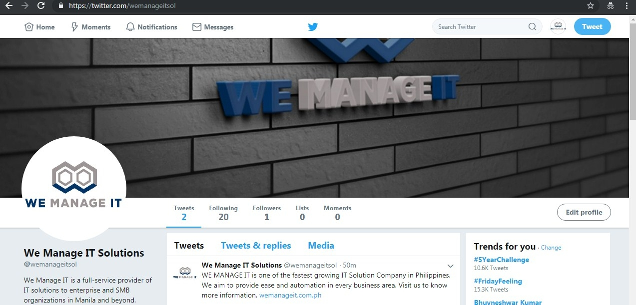 We Manage IT  (@wemanageit) Cover Image