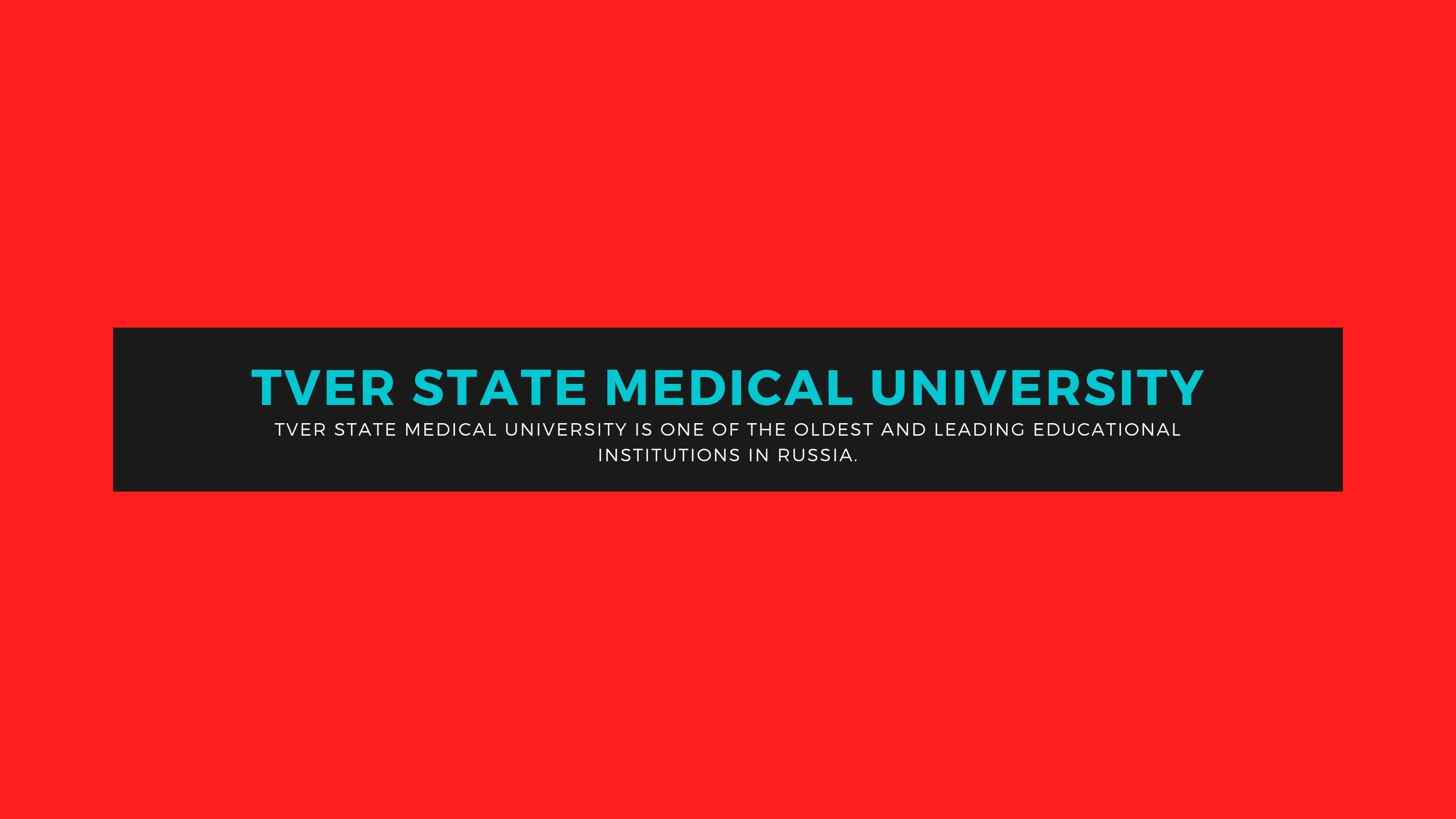 TVER STATE MEDICAL UNIVERSITY (@tsmu) Cover Image