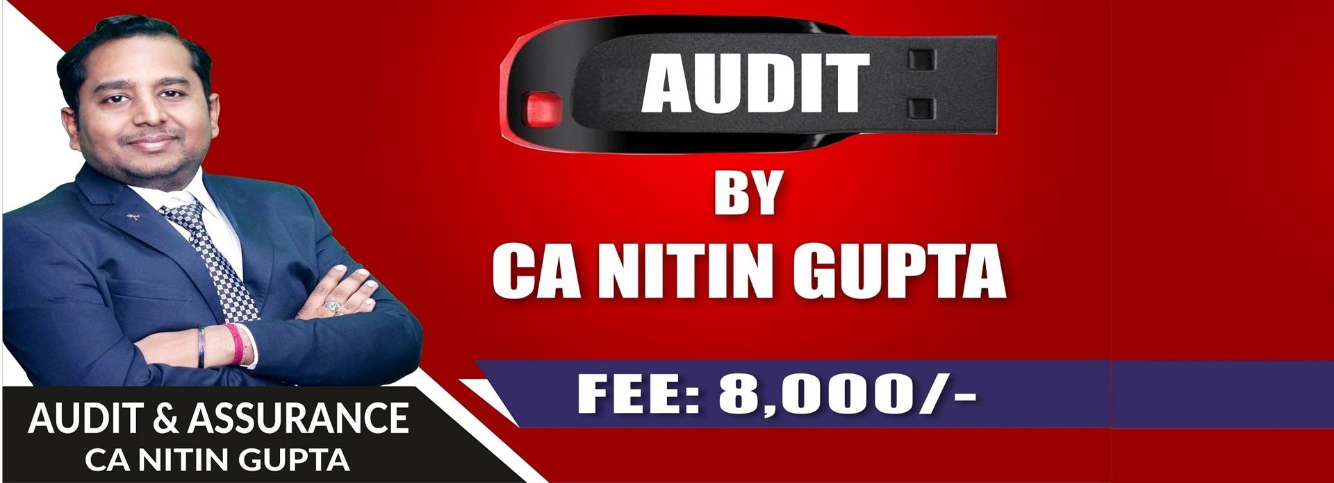 CA Nitin  (@ca-inter-audit-pendrive-classes) Cover Image