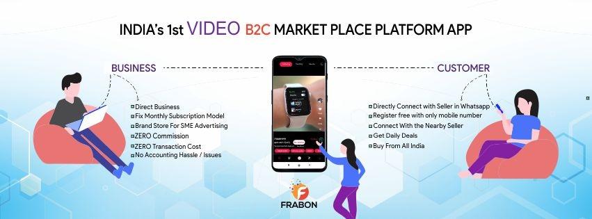 FRABON - India's 1st Video B2C Marketplace Platfor (@frabonb2cplatform) Cover Image