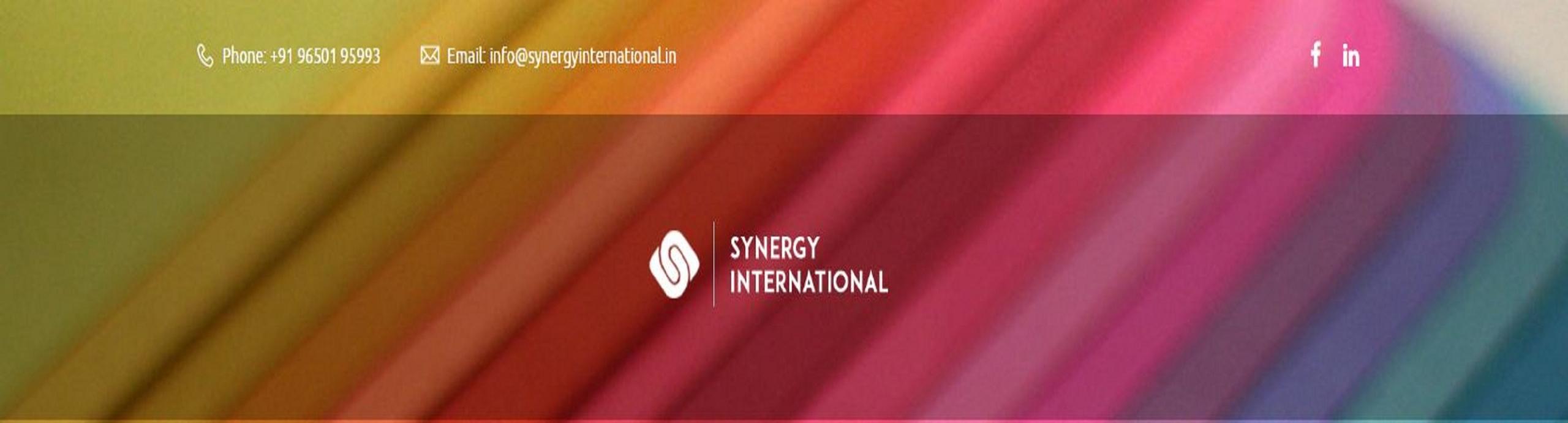 S (@synergyinternational) Cover Image